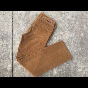 Tan Corduroy Patagonia Women's Pants